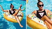 Дженифър Лопес показа фантастично тяло и прекрасно настроение за почивка
