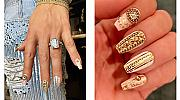 "Кралски маникюр: ""златен"" nail-art Versace за Дженифър Лопес"