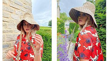Пазим се от слънцето: Рита Ора показа най-модерния аксесоар за лятото