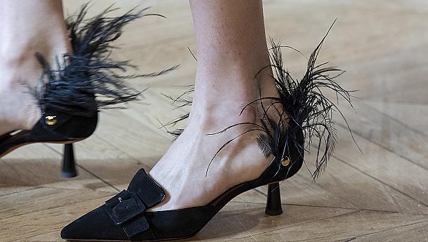 Черните обувки на висок ток, в които сме влюбени