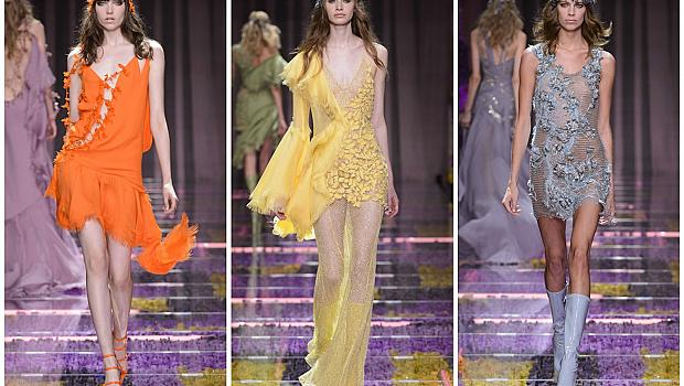 Versace Atelier Couture Fall-Winter 2015 в Париж