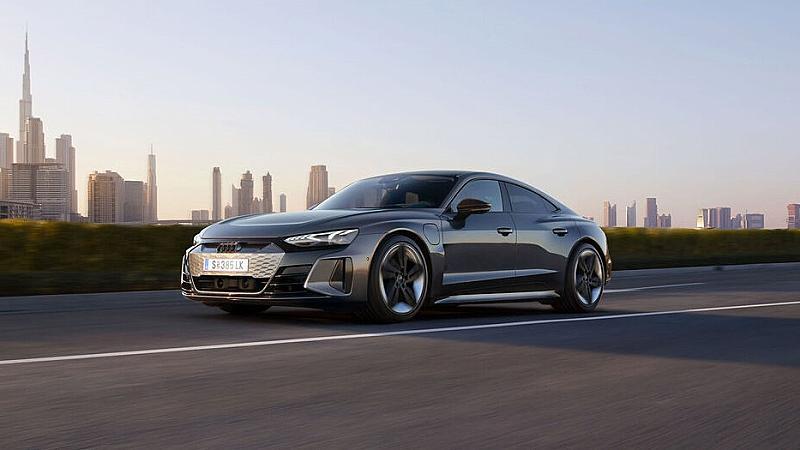 Audi RS e-tron GT - електромобил с поглед към бъдещето