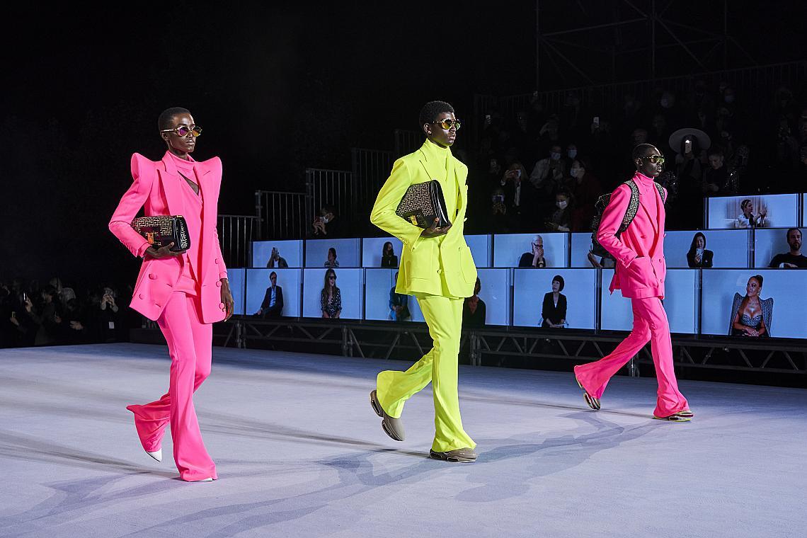 Обличаме пролетта в неон: 23 стайлинг решения от модния подиум