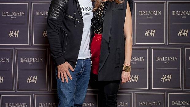 Гостите на вечерта на старта на колекцията Balmain x H&M