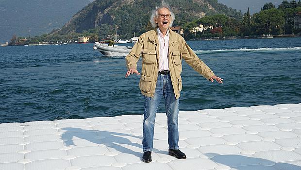 Българинът Кристо с нов грандиозен проект на езерото Исео