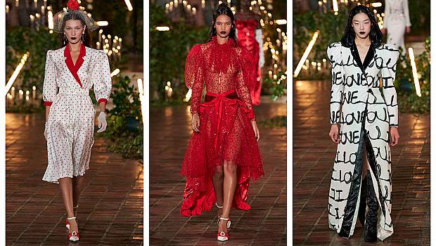 Романтика и страст от Rodarte през Седмицата на модата в Ню Йорк