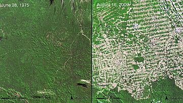 Как планетата се е променила през годините