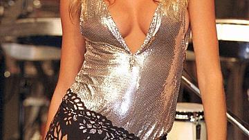 Жизел Бюндхен на модния подиум