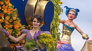Един от най-големите карнавали в света в Ница