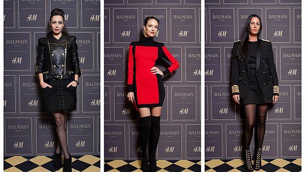 Вечер в чест на Balmain x H&M в София