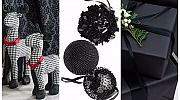 Черният цвят в коледната украса: има ли място?