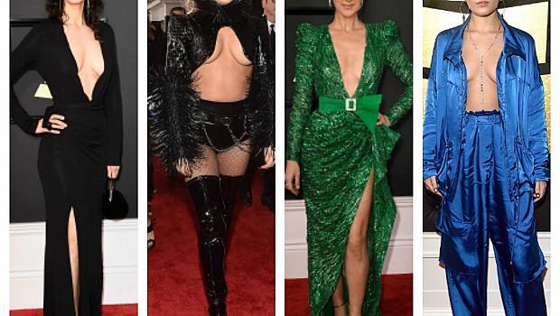 Червеният килим на Grammy посрещна много блясък и голота