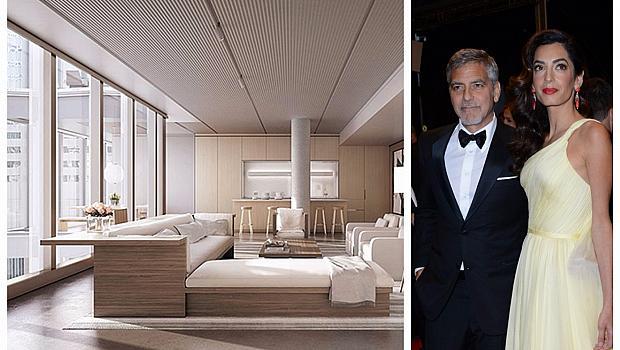 Амал и Джордж Клуни се сдобиха с нов апартамент в Ню Йорк
