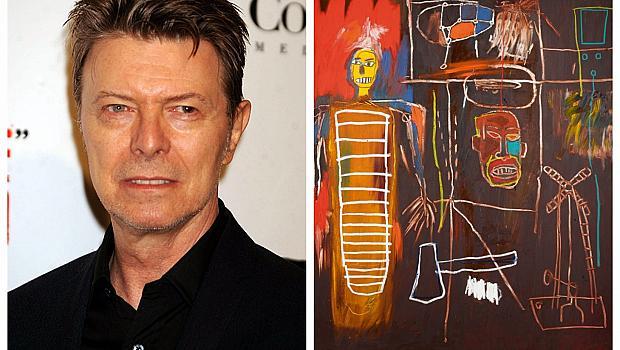 За първи път ще бъде показана колекцията изкуство на Дейвид Бауи
