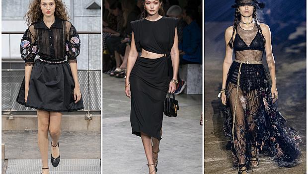 Черното е новото черно: 47 доказателства на дизайнерите