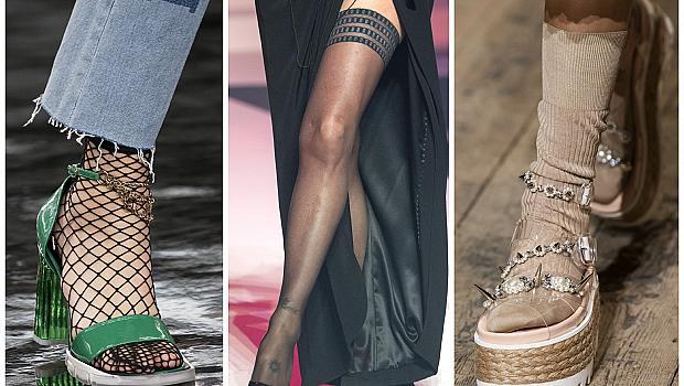 Елегантните чорапи, с които ще носим летните си обувки