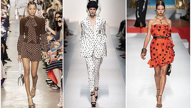 Обличаме лятото с точки: 20 елегантни стайлинг решения от модния подиум