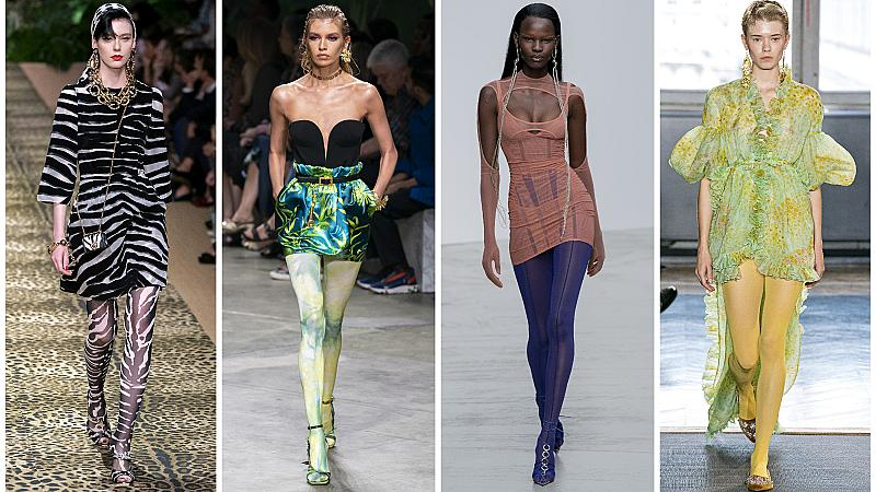 Крака, обвити в цветове: Чорапогащниците, които трябва да притежавате