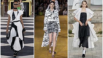 Класиката е тренди! 15 черно-бели модни доказателства