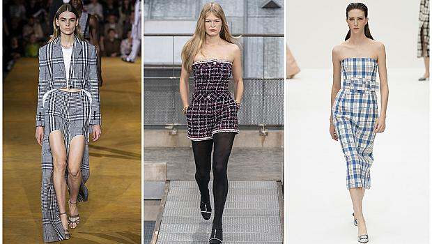 Най-елегантните летни модни находки с кариран принт
