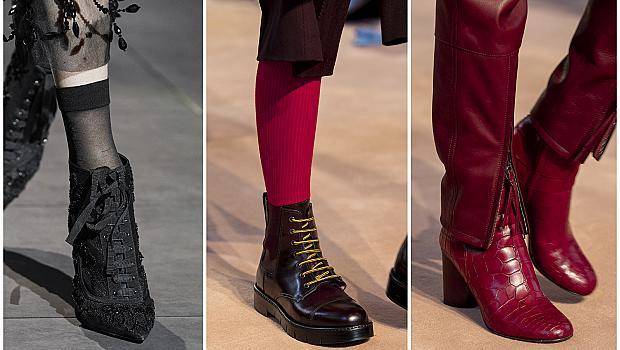 Заменяме сандалите с елегантни кожени боти