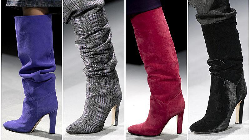 Заменихме сандалите с елегантни ботуши: 20 модела от подиума за есен 2020