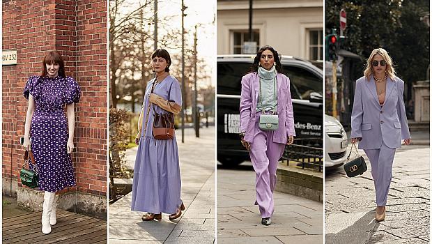 19 виолетови street style визии, подходящи за уикенда
