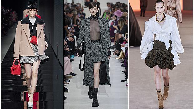 Дължина над коляното за секси визия: 20 къси поли от модния подиум