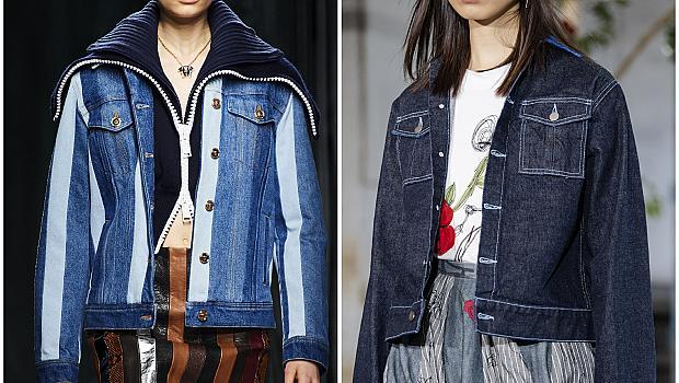10 дънкови якета от модния подиум, подходящи за сезона