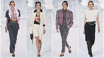 Грандиозното ревю на Chanel пролет-лято 2021 (видео)