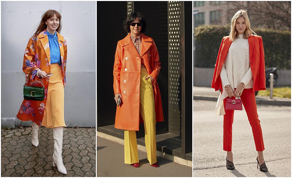За повече настроение: 25 Street style идеи в оранжево