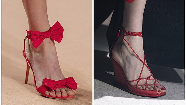 10 червени модела обувки за романтична визия