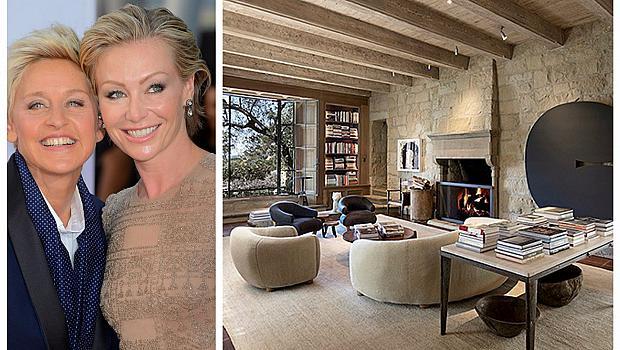 Елън Дедженеръс продава къщата си в Санта Барбара за 45 милиона долара