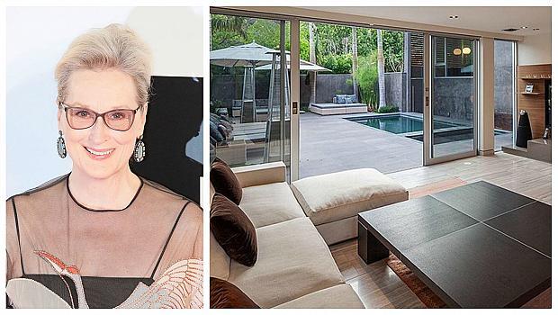 Мерил Стрийп и нейният модерен дом в Калифорния