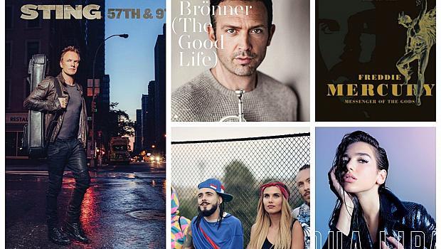 5 нови музикални предложения