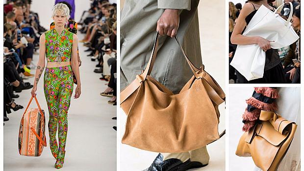 Модата на големите чанти се завръща
