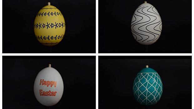 Искате ли да блеснете с различни великденски яйца?