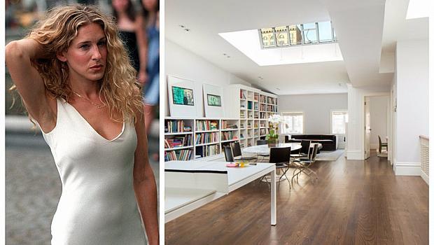 Апартаментът на Сара Джесика Паркър в Ню Йорк