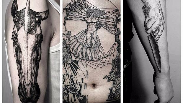 Татуировки с мащаб