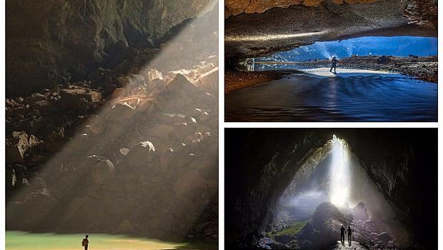 Удивителни гледки от пещерата Шондонг