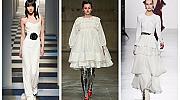 28 бели рокли от подиума