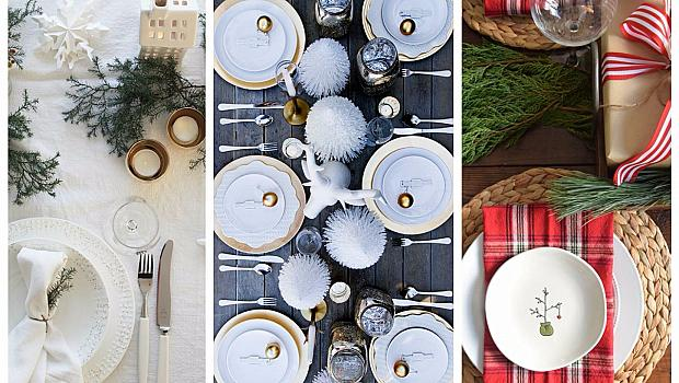 20 идеи как да подредите коледната маса
