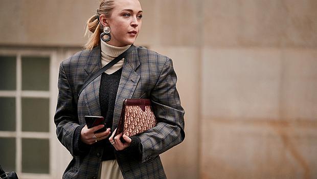 28 карирани визии от стилните момичета на Копенхаген