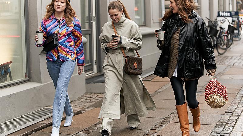 GRL PWR! Най-стилните момичета от Копенхаген вървят в комплект