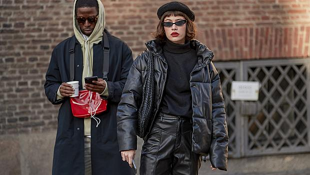 Street style в черно: 30 аутфита излъчващи увереност