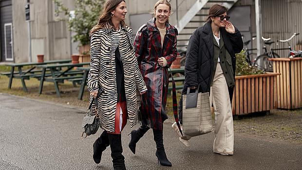 Как момичетата от Копенхаген, Лондон и Милано носят животинските принтове?