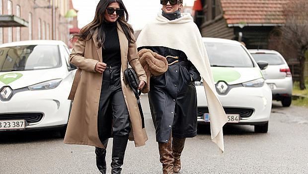 30 street style идеи от Копенхаген с дълго палто