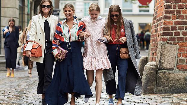 Street style от Копенхаген