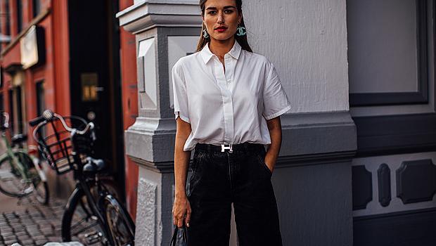 Street style с бяла риза: 20 идеи как да я носим