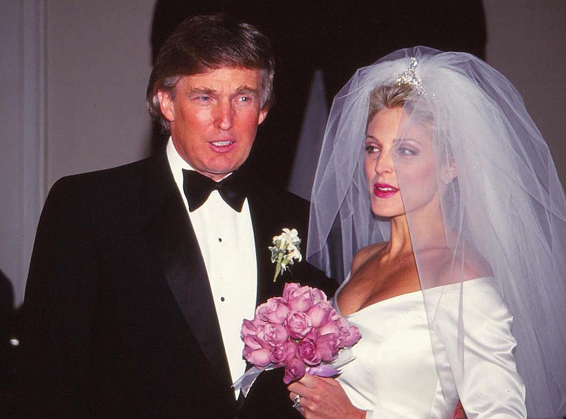 Сватбата на Доналд Тръмп с Марта Мейпълс